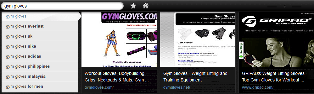 Yahoo Axis gripad.com