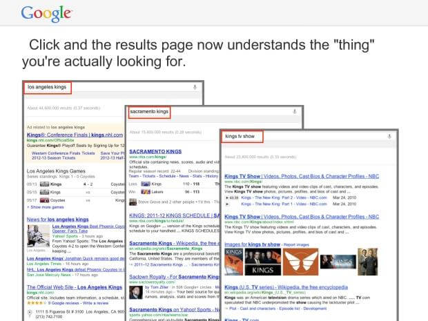 better search results