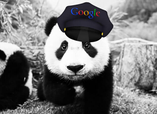google-panda-update-is-a-cop-bot-panda-photo-amended-from-grupo-panda-and-creative-commons