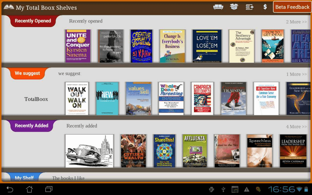 TotalBoox eBook Reader