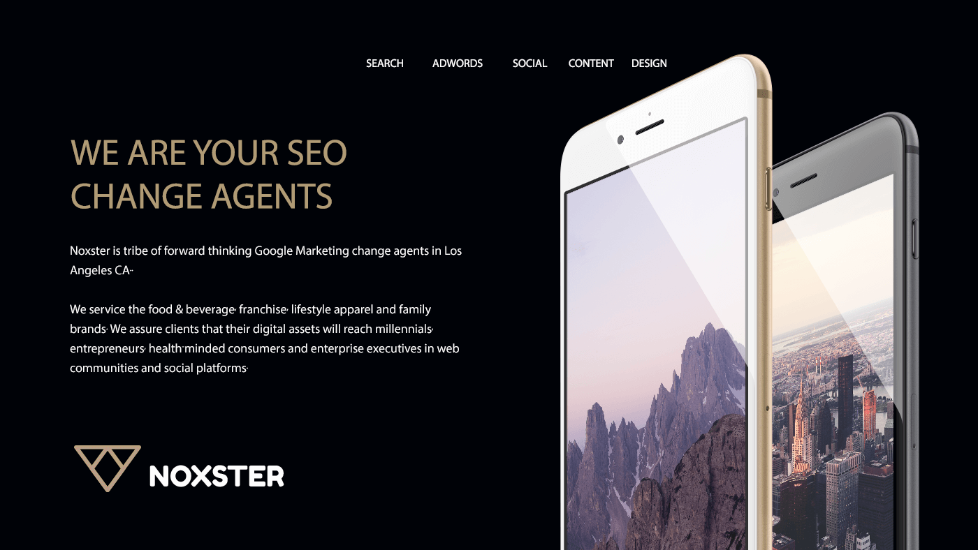 SEO Los Angeles Change Agents - Noxster